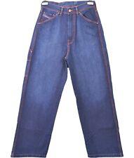 DIESEL Woman High Waist Jeans Boyfriend Oversized Vtg Indigo Denim sz 28 R22