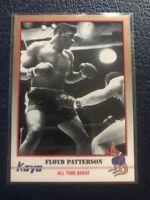 """FLOYD PATTERSON """"Heavyweight Champion"""" WACO, NC  1991 Kayo Boxing #50  MINT"""
