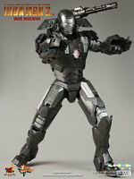 HOT TOYS IRON MAN 2 WAR MACHINE 1/6 12IN FIGURE MMS120 DON CHEADLE NEW SEALED