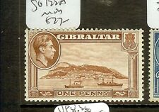 GIBRALTAR (B0402)  KGVI  1D  SG123A     MOG