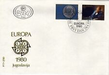 JUGOSLAVIA 1980 EUROPA SG 1922/3 FDC