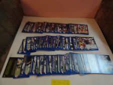 1991 -  182 DIFFERENT  CFL - JOGO FOOTBALL CARDS - NEAR SET  182 /220  NM/M