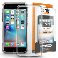 ORZLY TPU Gel Case Cover Protection for Apple iPhone 7 Plus, iPhone 8 Plus
