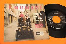 """NOMADI 7"""" 45 DONNA LA PRIMA DONNA 1° DISCO DEBUT ORIGINALE 1965 NM COLLEZIONISTI"""