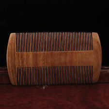 Natural Handmade Wood Brush Wooden Hair Care Spa Massage Comb Anti-static Comb .