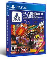 Atari Flashback Classics PlayStation 4 Vol. 3 Edition - Sony PlayStation 4 NEW