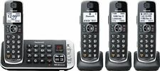Panasonic Kx-Tge674B Dect 6.0 Cordless Phone with Digital Answering System