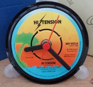 *new* Hi-TENSION (Brit Funk Band) vinyl record CLOCK   Actual original records