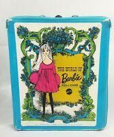 Vintage The World Of Barbie Doll Case Mattel 1968