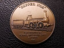 "Railway Bronze Medallion ""Copper Nob"" Furness Railway Company"