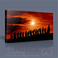 LORD OF THE RINGS - THE HOBBIT ICONIC CANVAS ART PRINT by Art Williams #04
