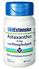 3X $10.44 Life Extension Astaxanthin with Phospholipids 4 mg eye antioxidant