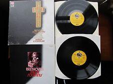 "Beethoven Missa Solemnis 2 *12"" Box Set BPO Karajan EMI Angel SLS 979 Uk 1975"