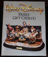 Walt Disney Family Catalog Christmas Fall 1987 Capodimonte Snow White Disneyland