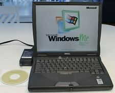 Dell Inspiron 4000 Windows ME Laptop Computer,20GB Hard Drive,Charger,CD,Serial
