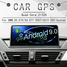 """10.25"""" Android 9.0 Car GPS Navigation for BMW X5 E70 BMW X6 E71 CCC(2007-2010)"""