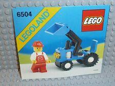 LEGO® Town Classic Bauanleitung 6504 Tractor ungelocht BA Anleitung