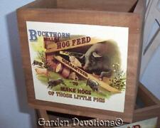 Pig Hog Farm Metal Sign Vintage Reproduction Wall Decor Guaranteed to make Hogs