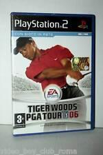 TIGER WOODS PGA TOUR 06 GIOCO USATO PS2 EDIZIONE ITALIANA PAL MS1 35583