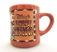 Disney's Animal Kingdom Coffee Mug Cup Mickey Safari Zebra Collectible Caramel