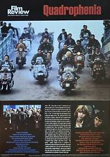 Quadrophenia Film Review Poster 24 X 34