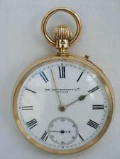Lever Solid Gold Pocket Watches with 12-Hour Dial