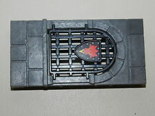 playmobil chateau 3269 dragon rouge pièce mur avec ouverture avec porte dragon