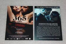 365 Dni - 365 Days (2020) Polish promo FLYER - ULOTKA Michele Morrone