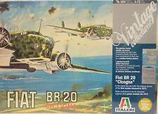 Italeri 1/72 Fiat BR 20 Cicogna Model Kit Vintage Collection 103