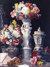 PAINTING STILL LIFE FLOWERS WALDMUELLER BIRTHDAY TABLE ART PRINT POSTER LAH320