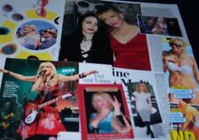 Courtney Love 16 pc German Clippings Full Pages