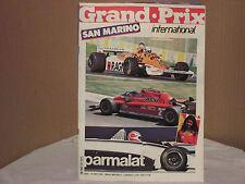GRAND . PRIX INTERNATIONAL No 31 MAY 1981 SAN MARINO