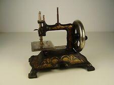 Antike seltene Jugendstil Kinder Nähmaschine um 1900