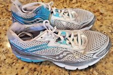 Saucony Hurricane 14 Women's Running Walking Sport Athletic Shoes Size 7.5 Blue