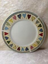 Oneida Majesticware D. C. Brown & Co. Patchwork Hearts Dinnerware Bread Plate