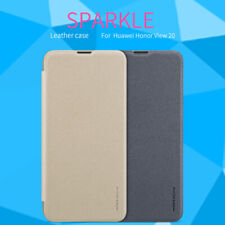Genuine Nillkin Sparkle Slim PU Leather Flip Case Cover For Huawei Honor View 20