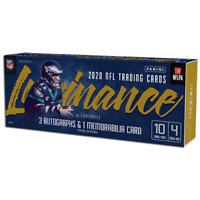 2020 PANINI LUMINANCE FOOTBALL FACTORY SEALED HOBBY BOX IN STOCK FREE SHIPPING