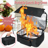 12V Portable Food Warmers Electric Heater Lunch Box Mini Oven Cooker for Car