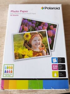Polaroid Photo Paper (50 Sheets 6x4 Premium Gloss)