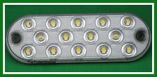 "Maxxima 6"" Low Profile Oval 14 LED White Back Up Reverse Light M63350"