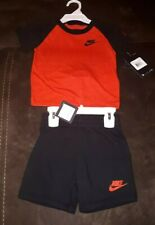 Nike Baby Boy Black Shorts & Red T Shirt Set Age 24 months New with tags