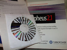 TURBOPOWER ORPHEUS DELPHI 2.12 WINDOWS DATABASE 1697855 SOFTWARE NEW VINTAGE