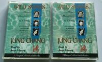 JUNG CHANG - WILD SWANS Three Daughters Of China audiobook cassette tapes
