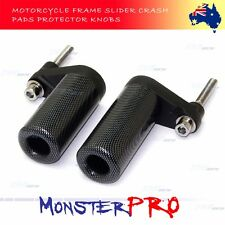 For Yamaha YZF R1 2007 2008 07 08 Carbon Style Frame Sliders Crash Pads Protect