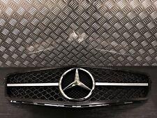 Mercedes W204 Classe C C180 C220 C250 C350 C63 Style Noir & Chrome Calandre