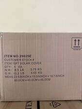Intex Solar Cover for 18ft Diameter Easy Set and Frame Pools BRAND NEW FAST SHIP