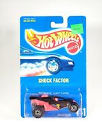 Hot Wheels Shock Factor #141 Blue Card 1/64 Diecast NEW NOC