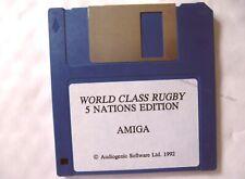 65461 edición de clase mundial de rugby 5 Naciones-Commodore Amiga (1992)