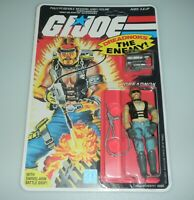 *RECARDED* 1985 GI Joe Torch Figure Complete Sealed *CUSTOM File Card Back*