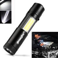 3500 LM Multifunction Portable XPE-R3 COB Lamp Work Light Flashlight Torch Tool